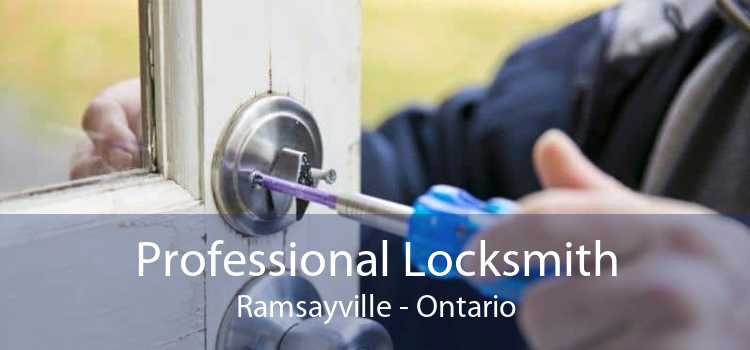Professional Locksmith Ramsayville - Ontario