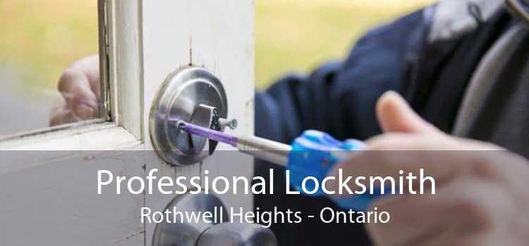 Professional Locksmith Rothwell Heights - Ontario