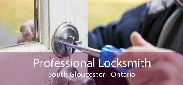 Professional Locksmith South Gloucester - Ontario