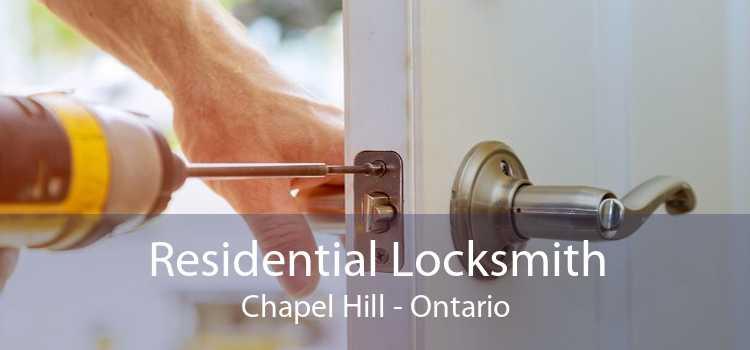 Residential Locksmith Chapel Hill - Ontario