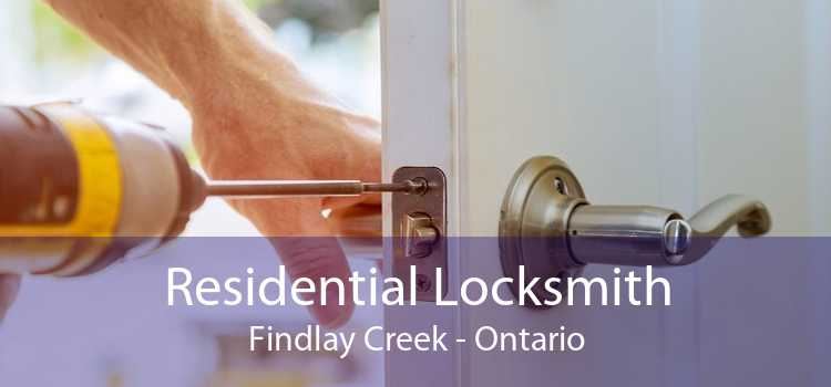 Residential Locksmith Findlay Creek - Ontario