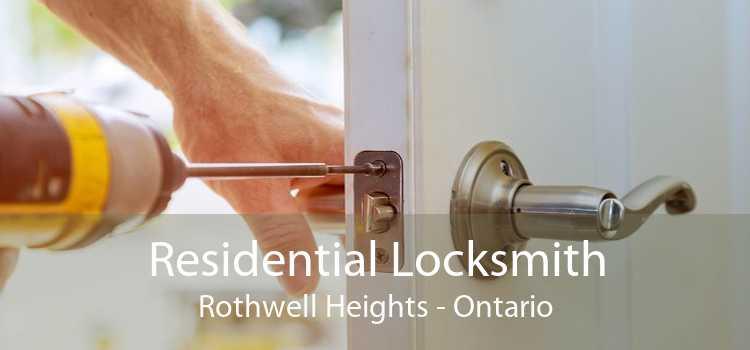 Residential Locksmith Rothwell Heights - Ontario