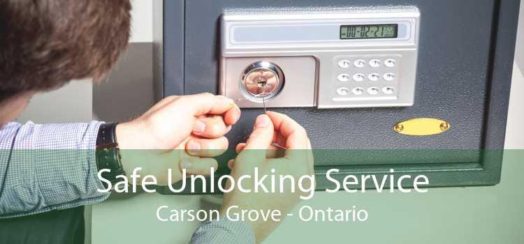 Safe Unlocking Service Carson Grove - Ontario