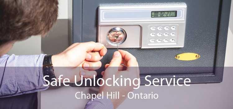 Safe Unlocking Service Chapel Hill - Ontario