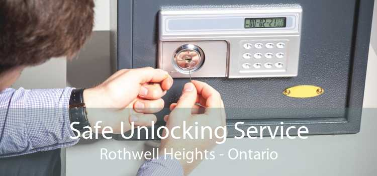 Safe Unlocking Service Rothwell Heights - Ontario