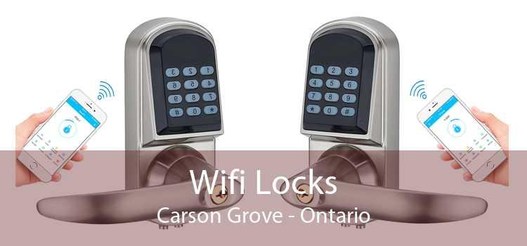 Wifi Locks Carson Grove - Ontario